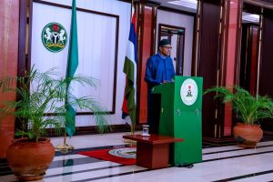 president Buhari orders security agents to shoot at anyone carrying Ak-47