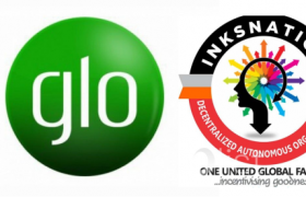 glo partners with inksnation on pinkoin
