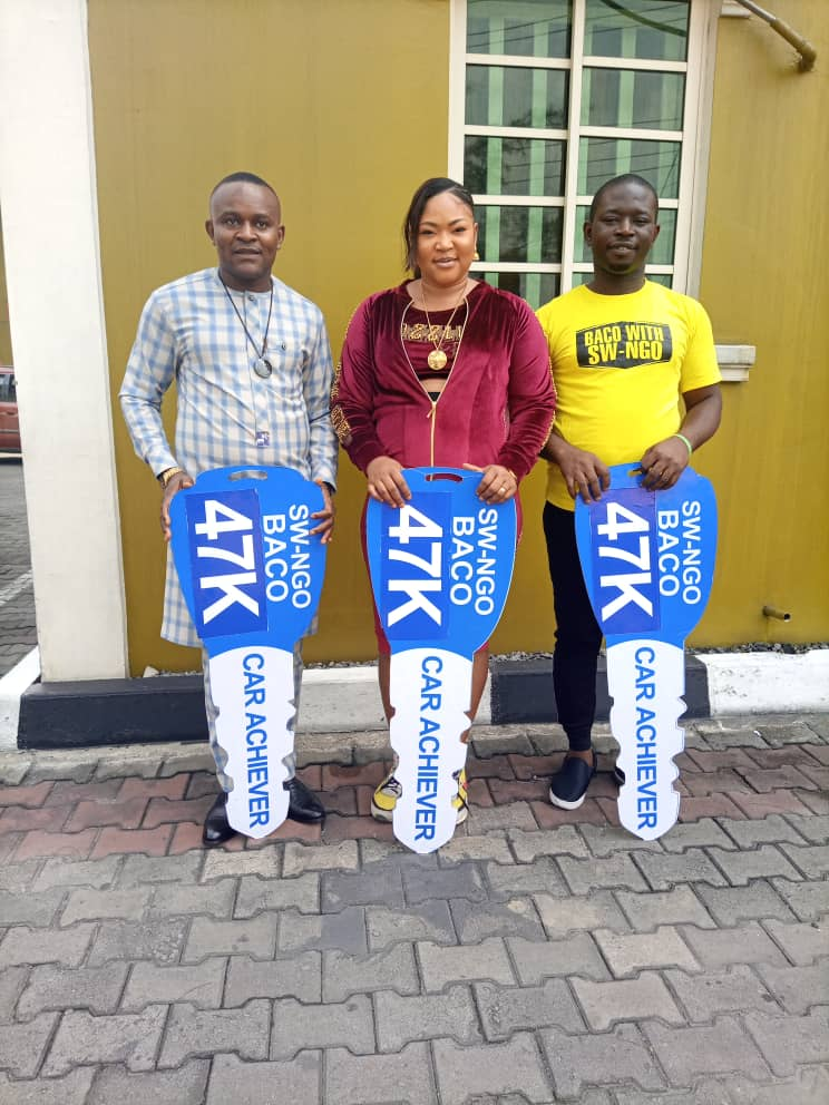 BACO 2021 beneficiaries in Port Harcourt powered by SW-NGO
