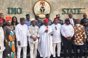 South East governors - EBUBE AGU - security outfit