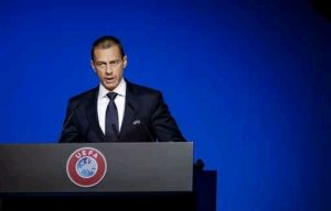 Uefa president welcomes Manchester city