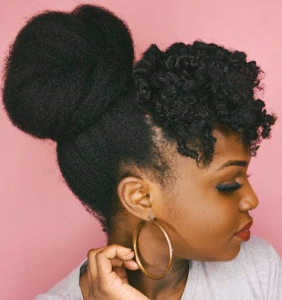 30 Quick Styles For Natural Hair 15