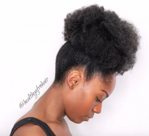 30 Quick Styles For Natural Hair 25