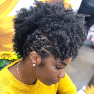 30 Quick Styles For Natural Hair 12
