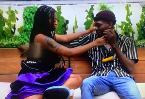 Angel-with-sammie-the-lovers-in-the-big-brother-house