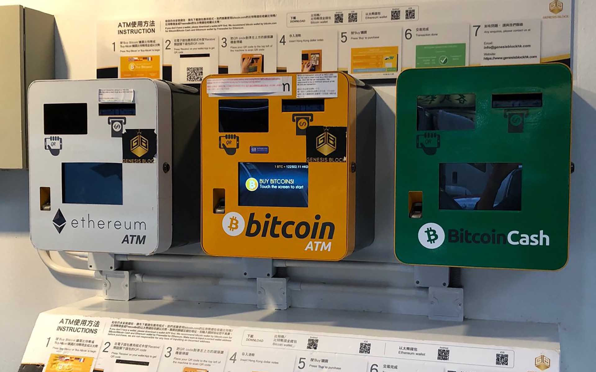 Pictutre of crypto atms